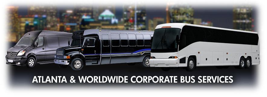 Atlanta corporate bus services group bus transportation for Atlanta motor coach companies