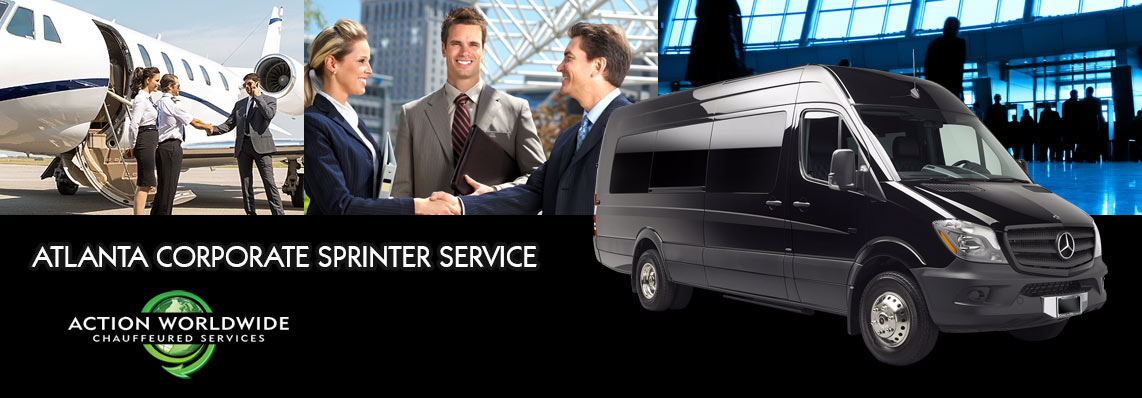 Atlanta Small Group Transportation - Sprinter Shuttle Service