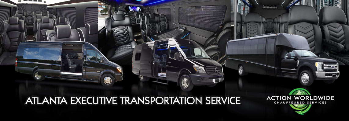 Corporate Shuttle Coach Transportation Rentals Serving Atlanta, GA