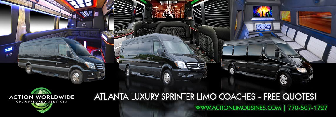 Atlanta Sprinter Limo Coach Service Rental