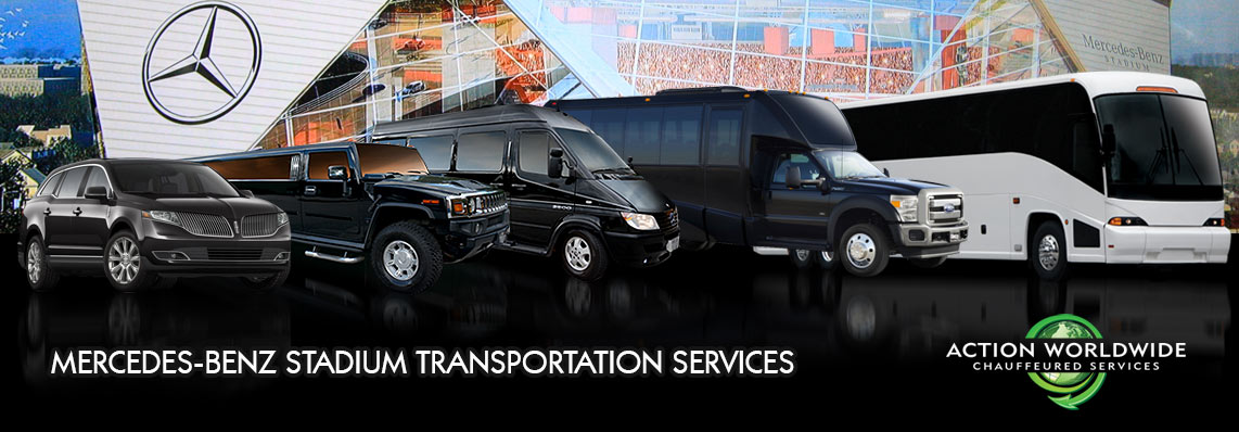 Atlanta mercedes benz stadium falcons limo service for Who owns mercedes benz stadium