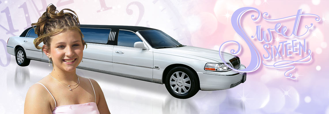 Sweet Sixteen Limo Party Rentals & Services